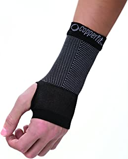 Copper Fit Unisex Advanced Support Wrist Sleeve, Medium