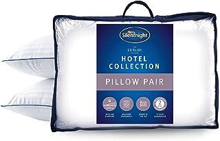 Silentnight Luxury Hotel Collection - Almohadas (74 x 48 cm), Color Blanco