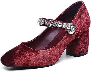 Nine Seven Women's RoundToe Heel Maryjane Pump