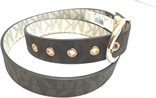 Vanilla/Brown Signature Reversible Belt