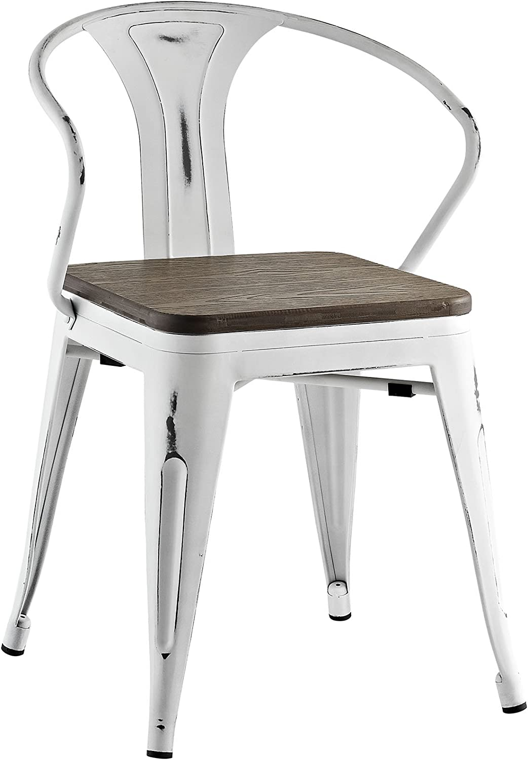 Modway EEI-2030-WHI Promenade Dining Chair in White