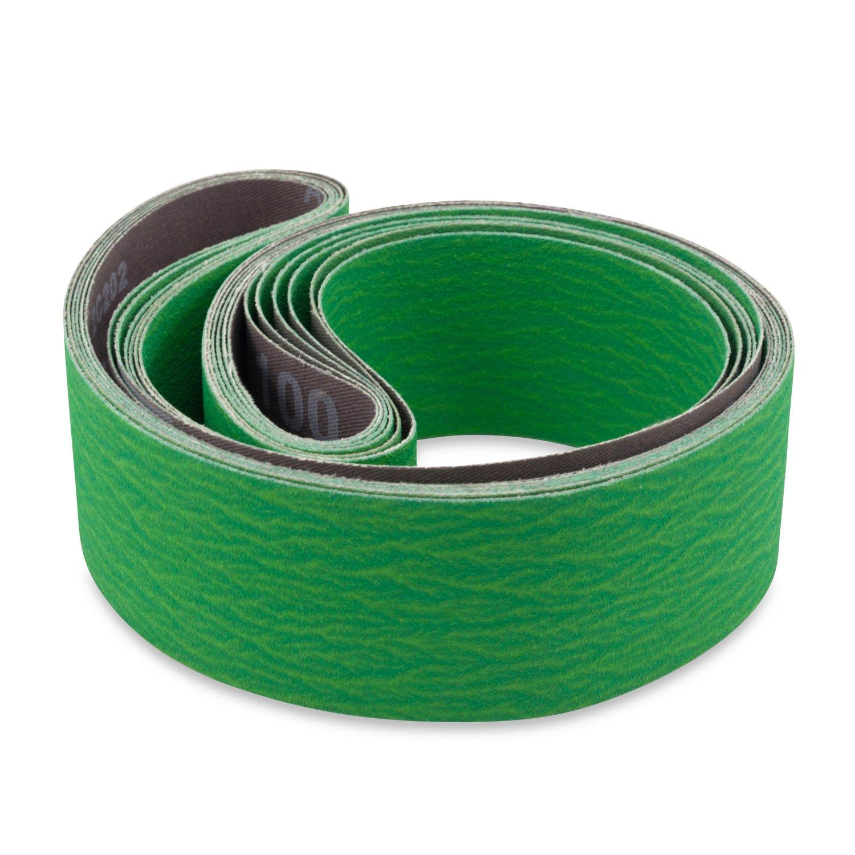 For Metal /& Wood-10 Belts 1 x 30 Inch   AO Flexible 400 Grit Sanding Belts