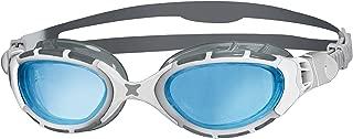 Zoggs Unisex Predator Flex 2.0 Swimming Goggles, White/silver/tint, One Size