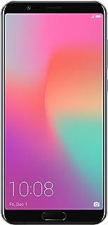 "Honor View10 GSM Unlocked Smartphone, AI Processor, 5.99"" FullView Display, 20MP + 16MP Dual-Lens AI Camera, Dual SIM 4G, Fast Charging, 6/128 GB, Black (US Warranty)"