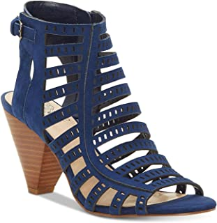 Vince Camuto Womens Evalina Leather Open Toe Casual Strappy Sandals US