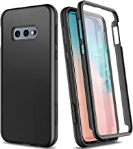 SURITCH Case for Samsung Galaxy S10e,【Built in Screen Protector】【Support Wireless Charging】 Rugged Back Cover Hybrid Bumpe...