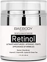 Baebody Retinol Moisturizer Cream with Retinol, Jojoba Oil & Vitamin E, 1.7 Ounces