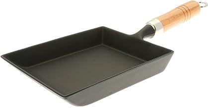 Iwachu Iron Tamagoyaki Omelette Pan, Black