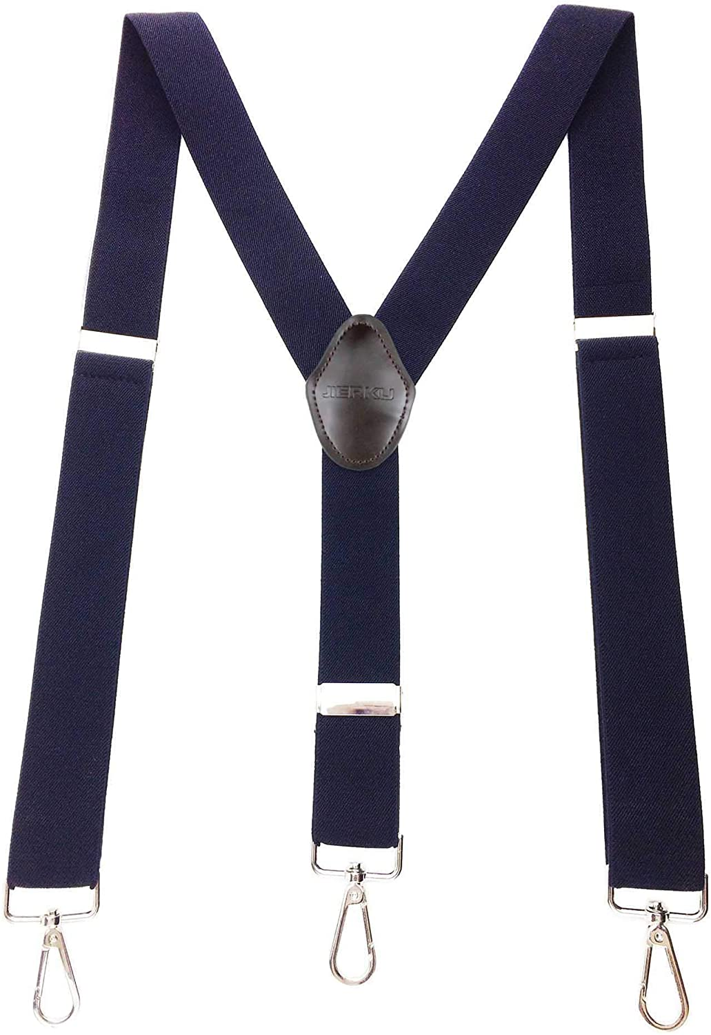 Romanlin Suspenders for Men Long We OFFer at cheap prices Beach Mall with 3 Clips Hooks Heavy Adjustable
