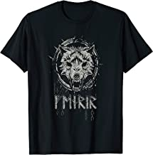 Viking Fenrir Wolf Chains Kills Odin in Ragnarok T-Shirt