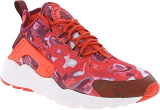 Nike Women's WMNS Air Huarache Run Ultra Print HK, LT Crimson/Noble RED-PRL Pink