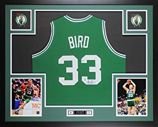 larry bird signed indiana state jersey