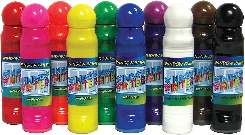 Crafty Dab Window Writers Paint Arts & Crafts, Assorted (CV-75556)