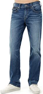 True Religion Ricky Relaxed Straight with Flap Blue Denim Jeans Indigo Luxe