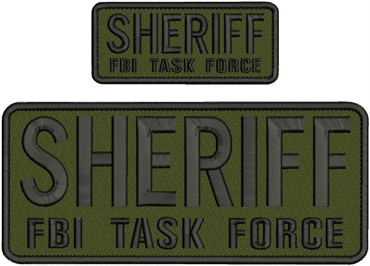 Embroidered Patch - Patches for 67% OFF of fixed price Women Task Man FBI NEW before selling For Sheriff