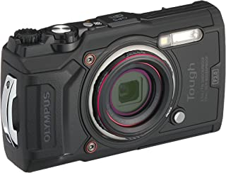 Olympus Tough TG-6 Action Camera, 12 Megapixel, Digital Image Stabilisation, 4x Wide-Angle Zoom, 4K Video, 120 fps, Wi-Fi,...