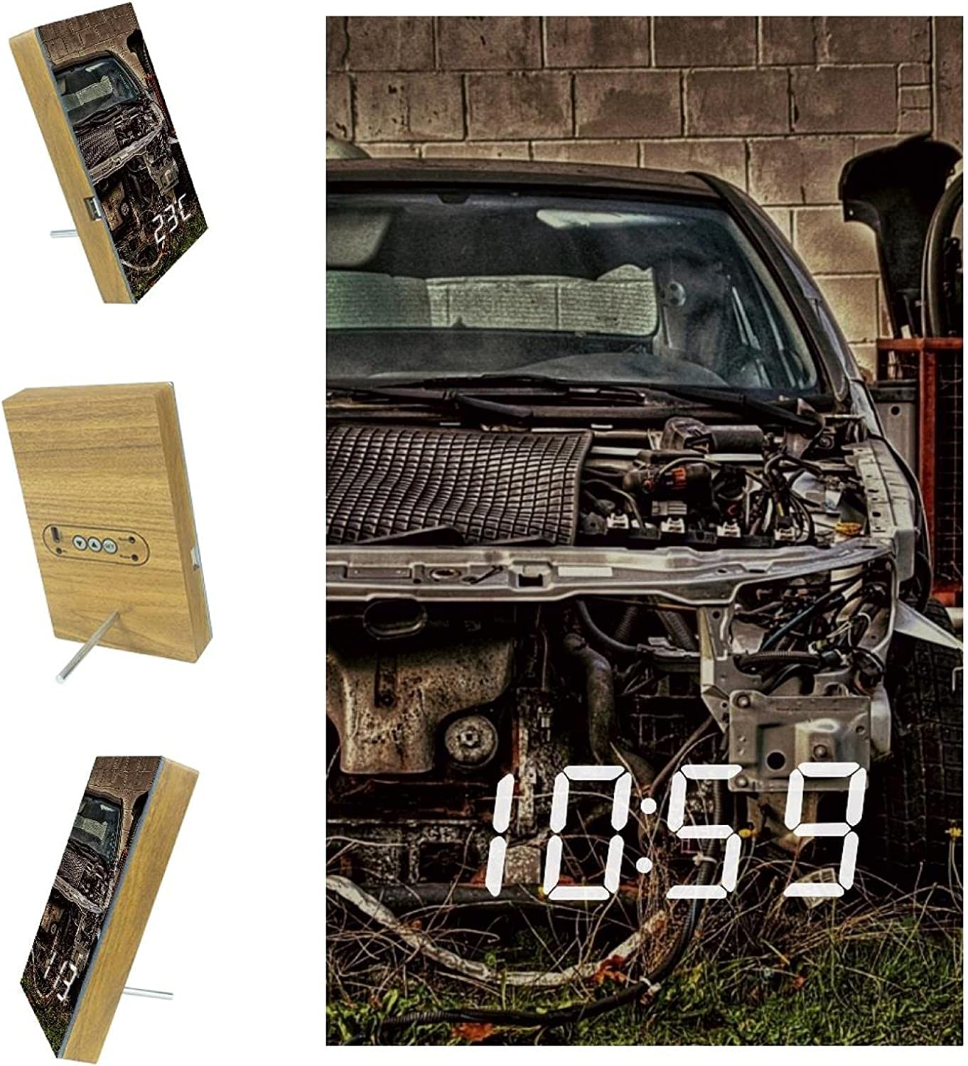 AISSO Old San Jose Mall Abandoned Vehicle LED Sale special price Alarm for Clocks Digital Bedroom
