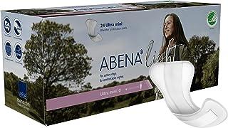 Abena Light Premium Incontinence Pad, Ultra Mini, 24 Count
