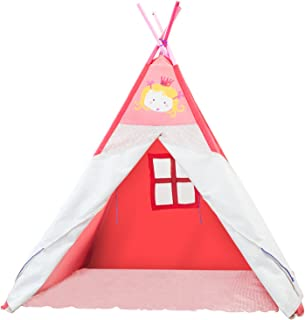 labebe Play Teepee Kid,  Baby Tent Pink for Kids 2-5 Years,  Child Teepee Girl/Teepee Pink/Teepee Baby/Teepee Tent/Teepee Child/My Teepee/Playtime Teepee/Little Kid Teepee
