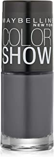 Maybelline New York Color Show Nail Lacquer, Impeccable Greys, 0.23 Fluid Ounce