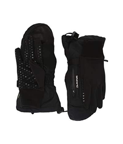 Dakine Leather Sequoia Mitts (Black) Extreme Cold Weather Gloves