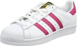 Adidas B23644 Chaussures de basketball, Fille, Running White, XX