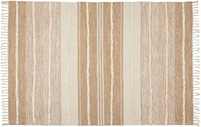 """Woven Tufted Rug - 4"""" x 6"""" 