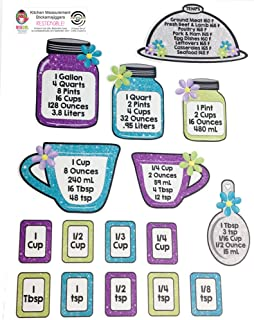 kitchen measurement stickers