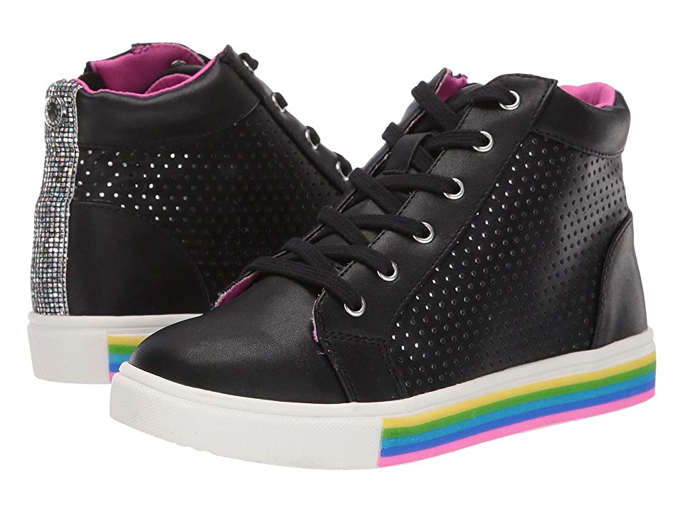 Steve Madden Kids Jgroove (Little Kid/Big Kid) (Black) Girls Shoes