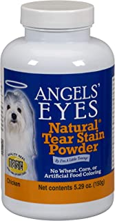 Angels' Eyes Natural Tear Stain Eliminator Remover - CHICKEN (5.29 oz) 150 gram