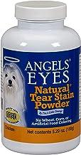 Angels Eyes Polvos Eliminar Las Manchas de lágrimas en Perros, Sabor Pollo, 150g