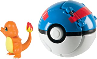 Pokémon Throw 'N' Pop Charmander and Great Ball