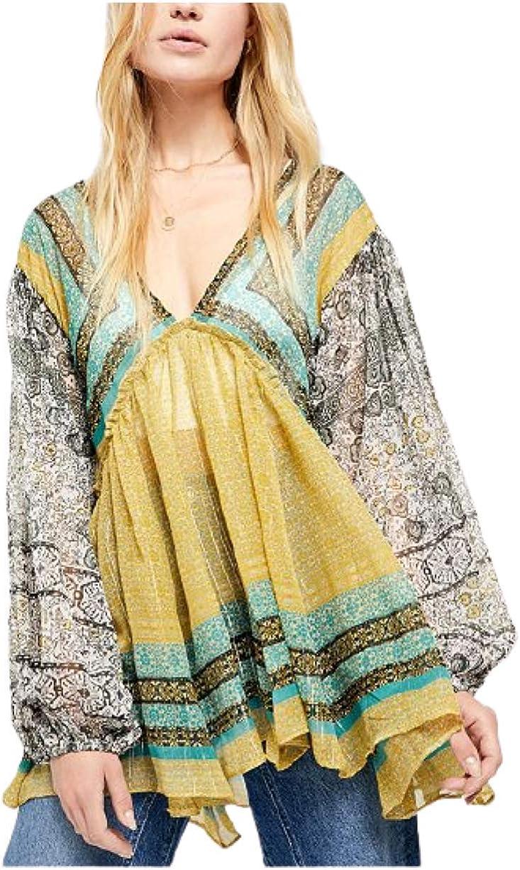 Free People Women's Aliyah Printed Tunic
