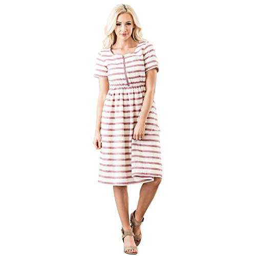 a7d08c7f2a38c Mikarose Ryan Modest Dress, Modest Nursing Dress