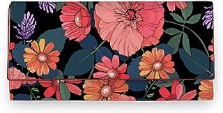 ShopMantra Multicolor Flower Prints Artificial Leather Women Wallet|Clutch|Ladies Purse