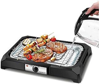 Aigostar Lava 31LDQ - Grill, barbecue électrique. BBQ, 2000W. Avec de l'eau : évite la fumée et utilisation en intérieur. ...
