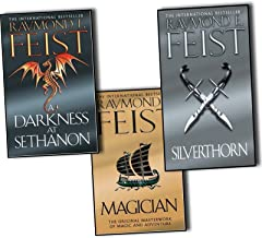 Raymond E. Feist Riftwar Saga 3 Books Collection Set Pack (Magician, A Darkness at Sethanon, Silverthorn) NEW