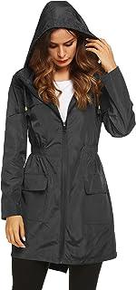 Lomon Women Waterproof Lightweight Rain Jacket Active...
