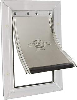 Croci C6066233 Petsafe Staywell Aluminio Door Pet, Medium, Bianco