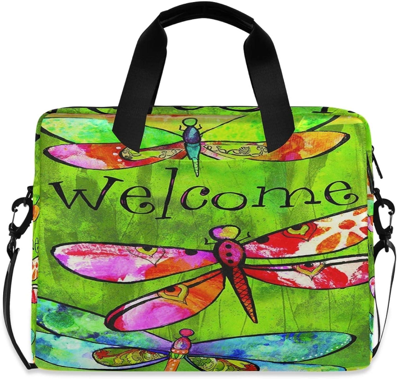 MLHlover shipfree Colorful Animal Dragonfly 16 Shoulder Bag inch Wholesale Laptop C