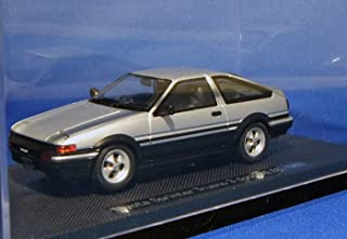 Toyota AE86 Sprinter Trueno 1983 Silver 1/43 Diecast Model