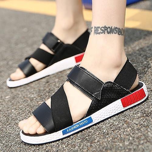 ZHANGRONG- Sandales de sport pour hommes Chaussures de randonnée pour hommes ( Couleur   D , taille   EU40 UK7 CN41 )