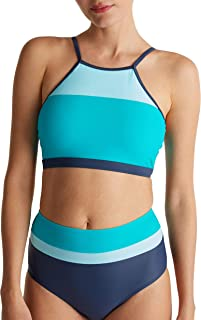 Esprit Ross Beach High Neck Top Bikini para Mujer