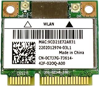 Bigfoot's Killer Wireless-N 1202 802.11a/b/g/n + BT4.0 ゲーム愛好者向けPCIe mini half対応無線LANカード