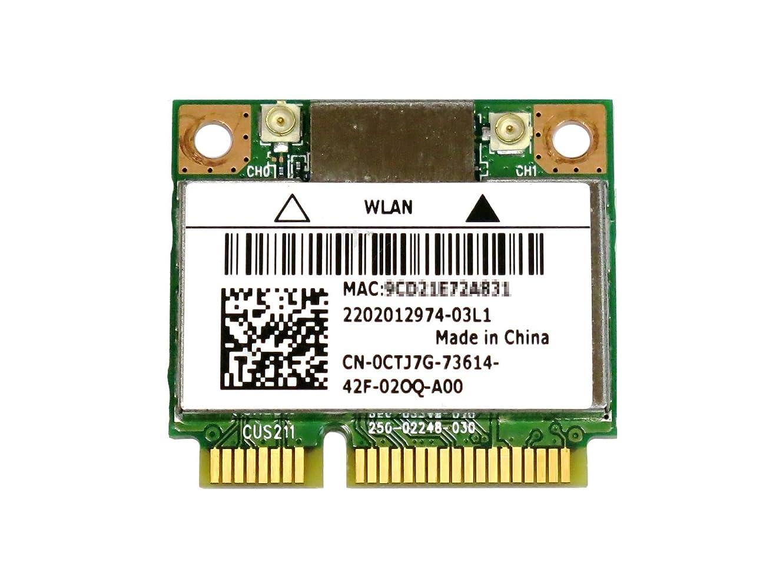 グリーンランド写真甲虫Bigfoot's Killer Wireless-N 1202 802.11a/b/g/n + BT4.0 ゲーム愛好者向けPCIe mini half対応無線LANカード
