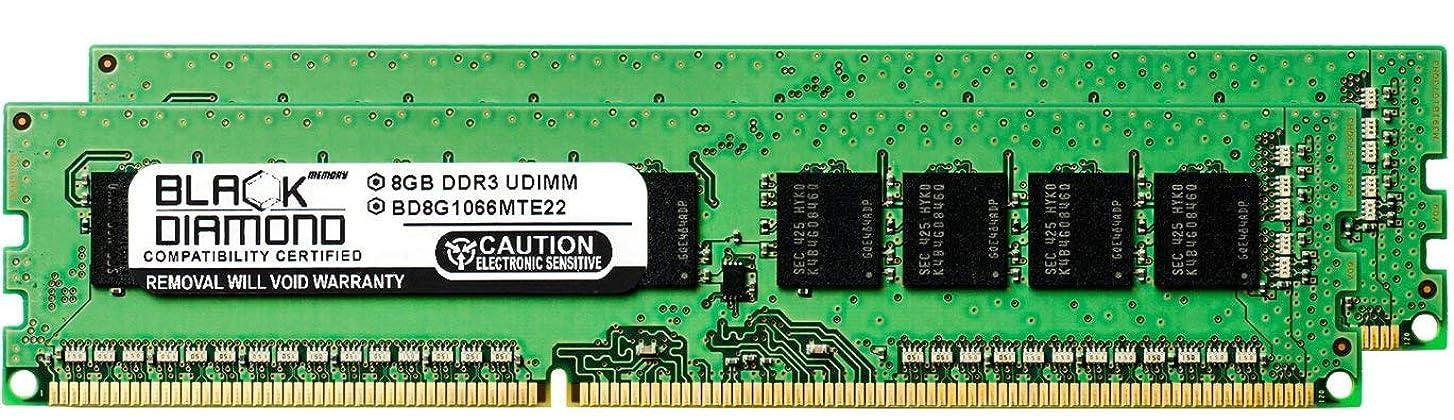 個人オプショナル日常的に16GB 2X8GB RAM Memory for Lenovo ThinkStation E Series E30 7824 DDR3 UDIMM 240pin PC3-8500 1066MHz Black Diamond Memory Module Upgrade
