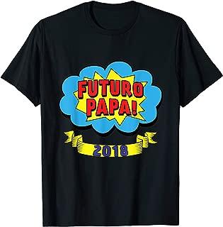 Mens Camiseta Futuro Papa 2018 Shirt Para Nuevos Papas