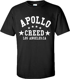 Apollo Movie Boxing Gym Training Black T-Shirt