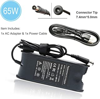N7110 AC Adapter Laptop Charger for Dell inspiron N5110 N5010 N7010 N4010 14 3421 5421 14R 5437 5421 15 3521 3537 3531 15R 5521 5537 17 3721 5748 17R 5737 5721 Power Supply Cord- 65W 19.5V 3.34A