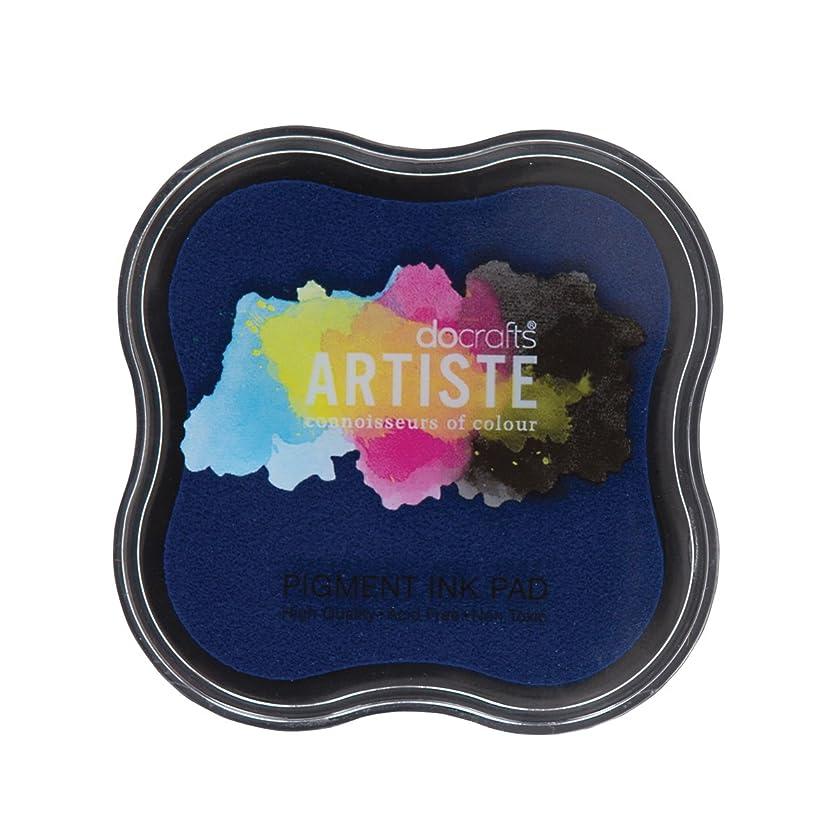 Artiste Pigment Ink Pad, Blue By Artiste beqa45997